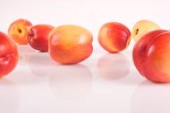 Frutas frescas del melocotón Imágenes de archivo libres de regalías