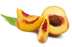 Frutas frescas del melocotón fotos de archivo