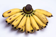 Frutas frescas del plátano Imagenes de archivo