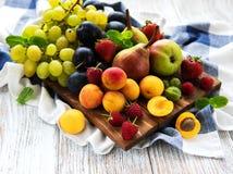 Frutas frescas del verano Fotos de archivo