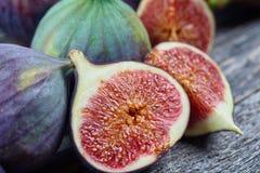 Frutas frescas do figo Fotografia de Stock