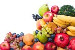 Frutas frescas e maduras Imagens de Stock Royalty Free