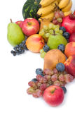 Frutas frescas e maduras Fotografia de Stock