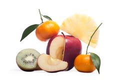 Frutas frescas sanas Foto de archivo
