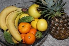 Frutas frescas, vitamina C Fotografía de archivo