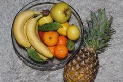 Frutas frescas, vitamina C, sana Imagen de archivo libre de regalías