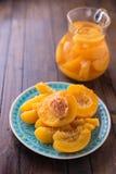 Frutas guisadas del verano Imagen de archivo
