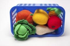 Frutas hechas punto Imagen de archivo libre de regalías