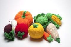 Frutas hechas punto fotos de archivo