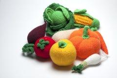 Frutas hechas punto fotos de archivo libres de regalías