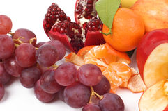 Frutas isoladas Foto de Stock Royalty Free