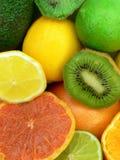 Frutas jugosas Fotografía de archivo