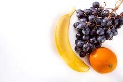 Frutas maduras isoladas Imagens de Stock Royalty Free