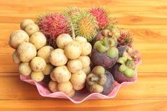 Frutas mezcladas frescas Imagen de archivo
