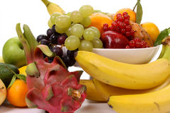 Frutas misturadas Imagem de Stock