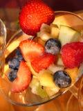 Frutas multicoloras - postre Imagenes de archivo