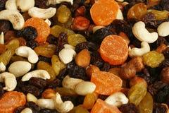 Frutas Nuts e secadas Imagens de Stock