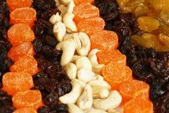 Frutas Nuts e secadas Imagem de Stock Royalty Free