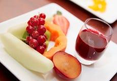 Frutas o vector de banquete Fotografía de archivo
