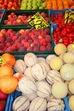 Frutas orgânicas Foto de Stock