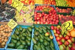 Frutas orgânicas Fotografia de Stock