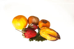 Frutas podres Fotos de Stock Royalty Free