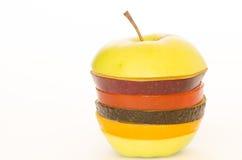 Frutas rebanadas Fotografía de archivo libre de regalías