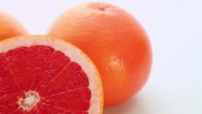 Frutas rojas del pomelo