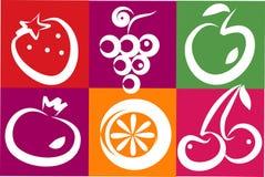 Frutas sanas del verano Fotografía de archivo