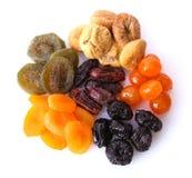 Frutas secadas Fotos de archivo libres de regalías