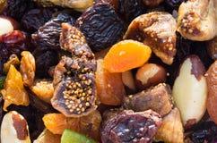 Frutas secadas Imágenes de archivo libres de regalías