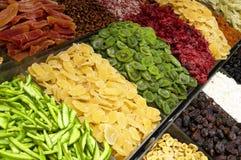 Frutas secadas Imagem de Stock Royalty Free
