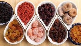 Frutas secadas imagen de archivo libre de regalías