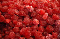 Frutas secadas - cereza Foto de archivo libre de regalías