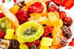 Frutas secadas, chiangmai Tailandia Fotografía de archivo