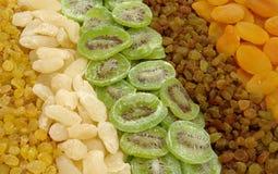 Frutas secadas clasificadas Imagen de archivo libre de regalías
