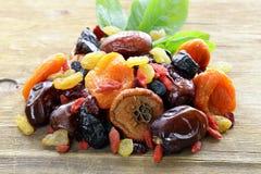 Frutas secadas clasificadas Foto de archivo