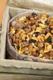 Frutas secadas clasificadas Fotos de archivo libres de regalías