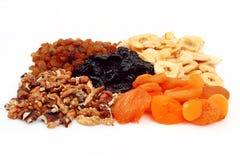 Frutas secadas dietéticas Fotos de archivo libres de regalías