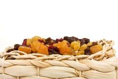 Frutas secadas misturadas Fotografia de Stock
