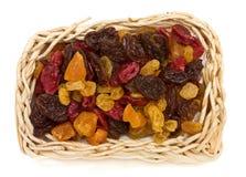Frutas secadas misturadas Foto de Stock Royalty Free