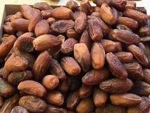 Frutas secadas y nueces traídas de Asia y vendidas en Europa fotos de archivo