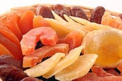 Frutas secas Fotografia de Stock
