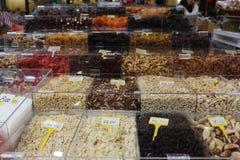 Frutas secas Fotografía de archivo libre de regalías