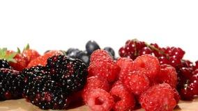 Frutas suaves almacen de video