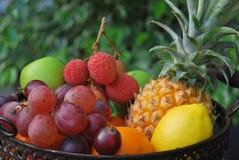 Frutas tropicais fotografia de stock