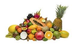 Frutas tropicais exóticas imagem de stock