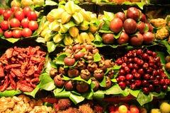 Frutas tropicales Foto de archivo libre de regalías