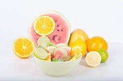 Frutas tropicales Imagen de archivo libre de regalías