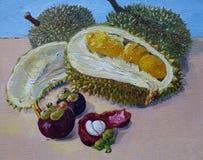 Frutas tropicales de Malasia Imagen de archivo